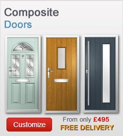 Composite doors from just £359 + VAT