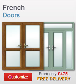 French doors from just £385 + VAT