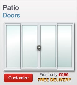 Patio doors from just £575 + VAT