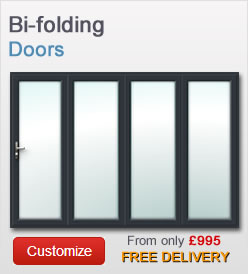 Bi-Folding doors from just £820 + VAT