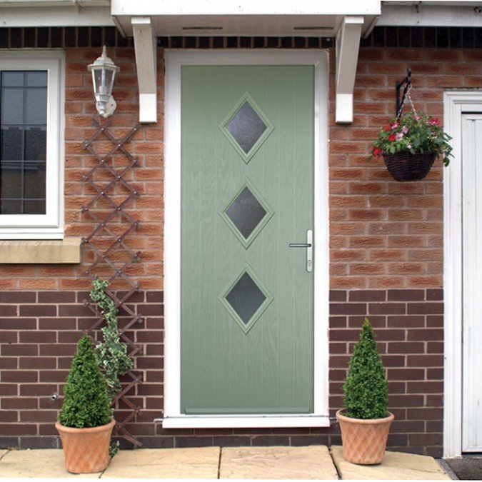 New 3 Diamond Style Composite Door Launched