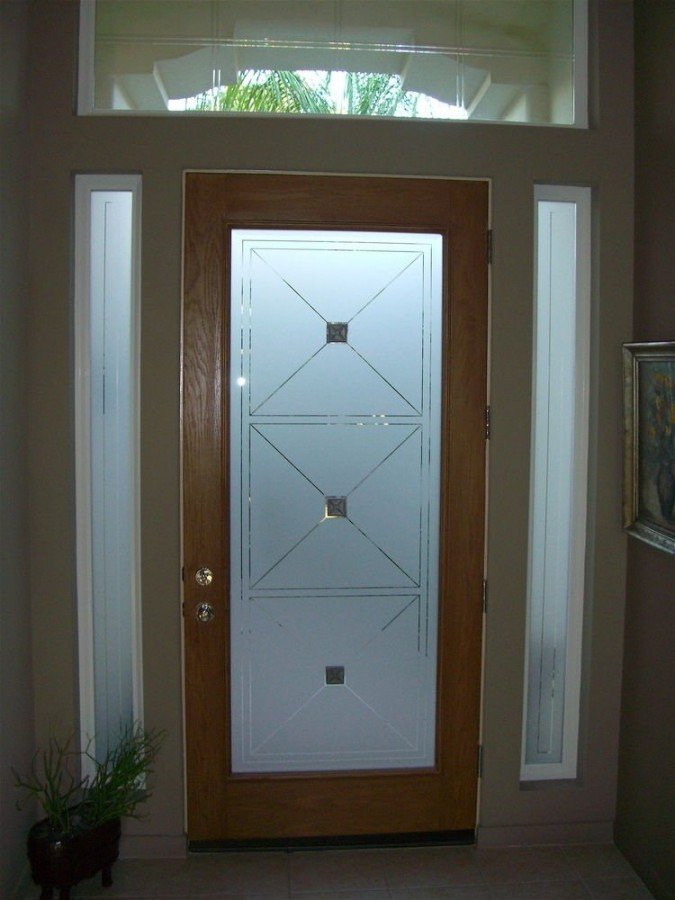 Which glass design in my front door just value doors for Front door glass panels