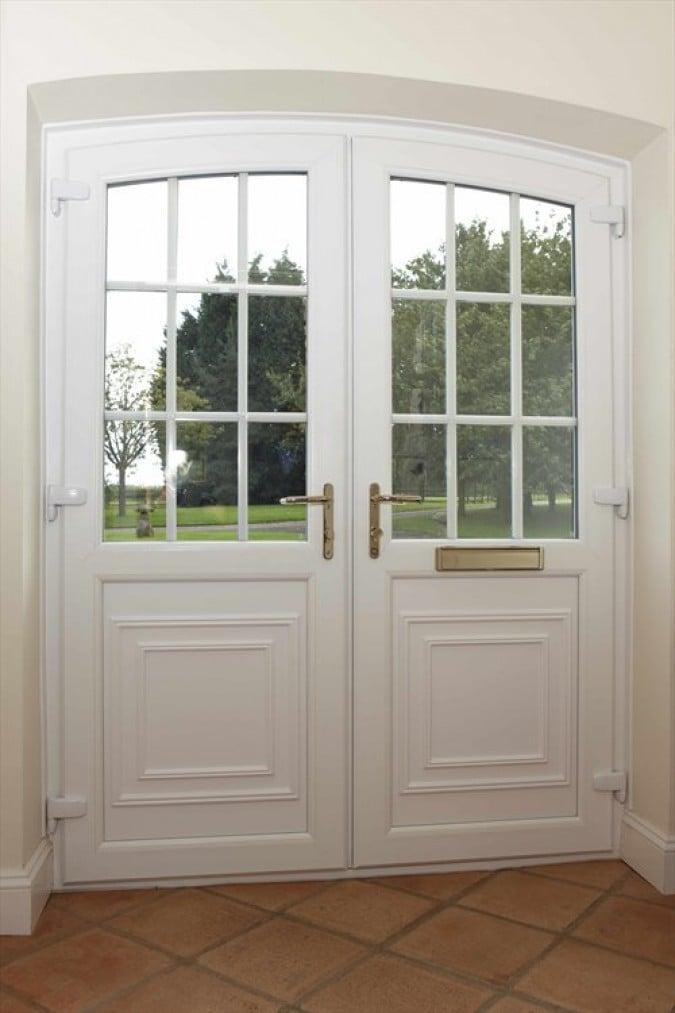 Gallery For Elegant Double Front Doors