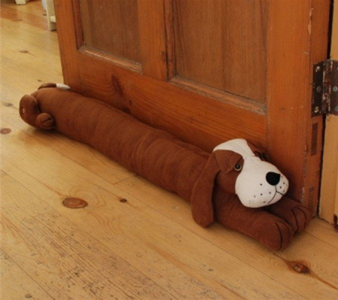 Knitting Pattern For Dog Draught Excluder : draft excluder and do you need one Just Value Doors