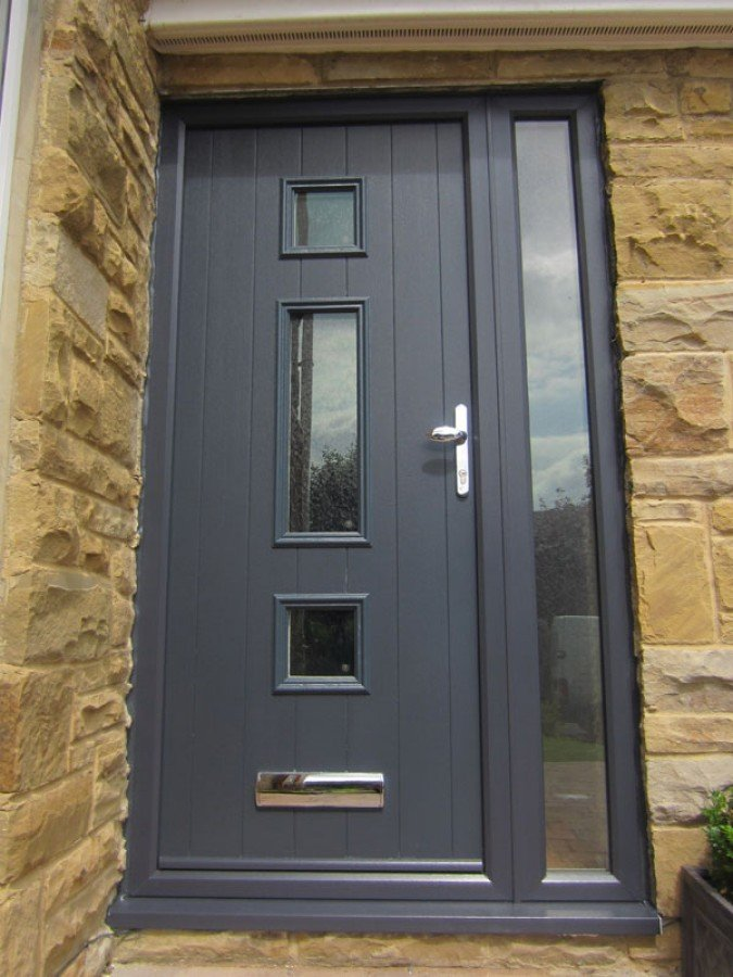 Anthracite Grey RAL7016 is the new black! Here at Just Value Doors ... & anthracite grey ral7016 | Just Value Doors Pezcame.Com