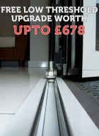 Free low threshold upgrade on all bi-fold doors throughout June