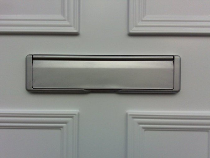 Changing a broken letterbox on your front door & changing a broken letterbox | Just Value Doors
