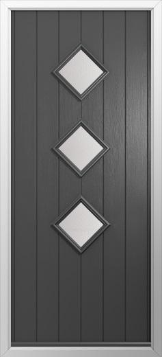 3 Diamond Composite Door Composite Front Doors