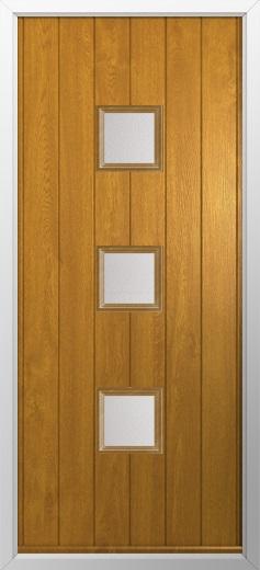 3 Square Composite Door Composite Front Doors