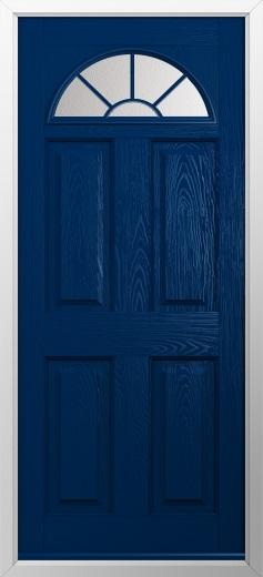4 Panel 1 Sunburst Composite Door Composite Front Doors