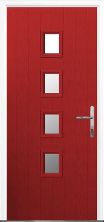 4 Square Grp Composite Door Composite Front Doors