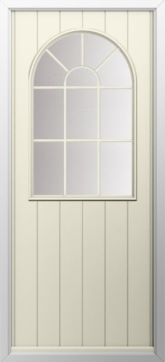 Cottage Sunburst Composite Door Composite Front Doors