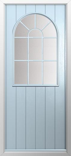 Cottage Sunburst Composite Door Composite Front Doors