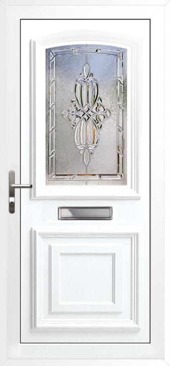 Upvc doors double glazed front doors bordeaux range for Ready made upvc doors