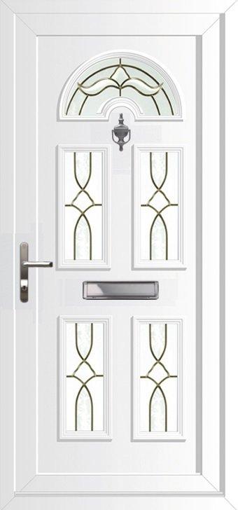 Upvc Doors Double Glazed Front Doors Georgian 5 Range