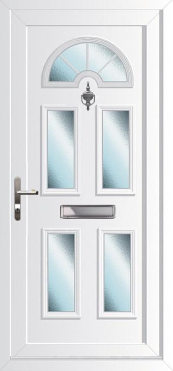 Upvc doors double glazed front doors georgian 5 range for Upvc french doors with georgian bar