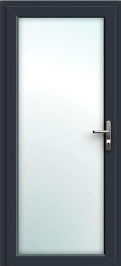 Fully Glazed Aluminium Front Door
