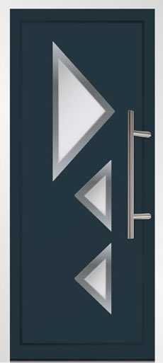 Leysin Aluminium Front Door