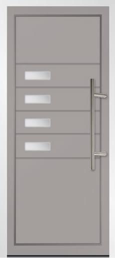 Lurisia Aluminium Front Door