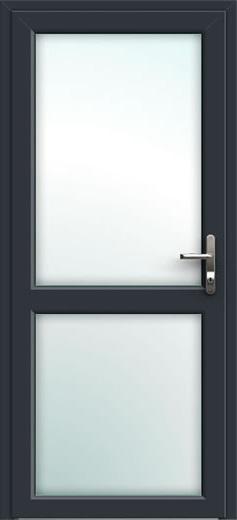 Midrail Glazed Aluminium Front Door