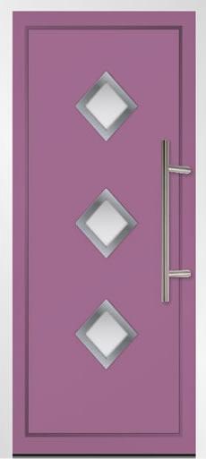 Sestriere Aluminium Front Door