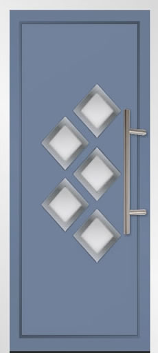 Veysonnaz 5 Aluminium Front Door