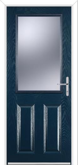 2 Panel 1 Square Composite Door