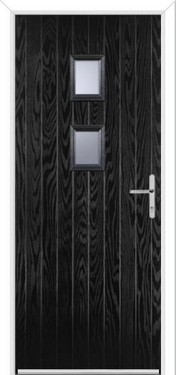 2 Square Composite Door