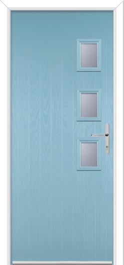 3 Square Handle Composite Door