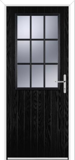 Cottage Grill Composite Door