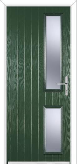 Twin Slide Handle Composite Door