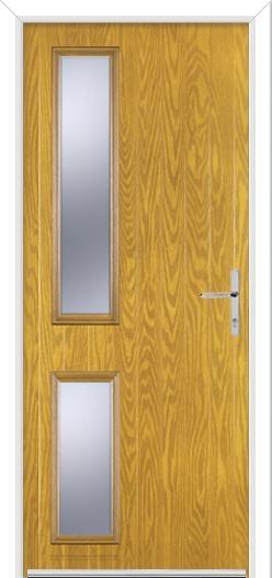 Twin Slide Hinge Composite Door