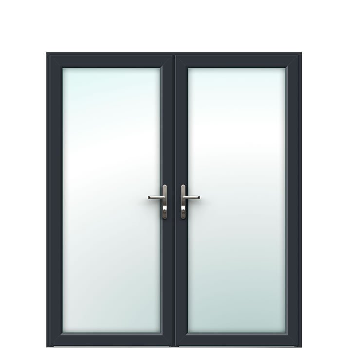 Aluminium French Door Style 1