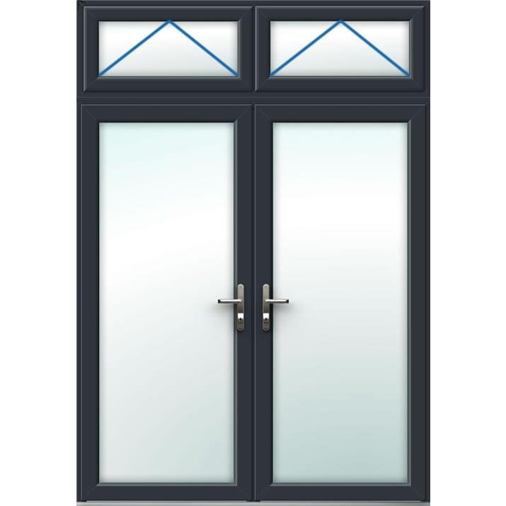 Aluminium French Door Style 10