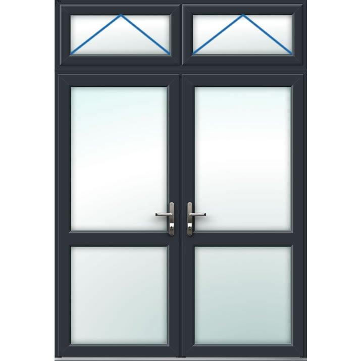 Aluminium French Door Style 11