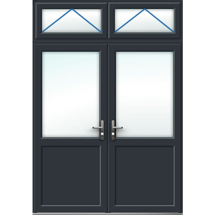 Aluminium French Door Style 12