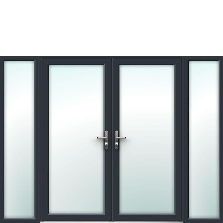 Aluminium French Door Style 13