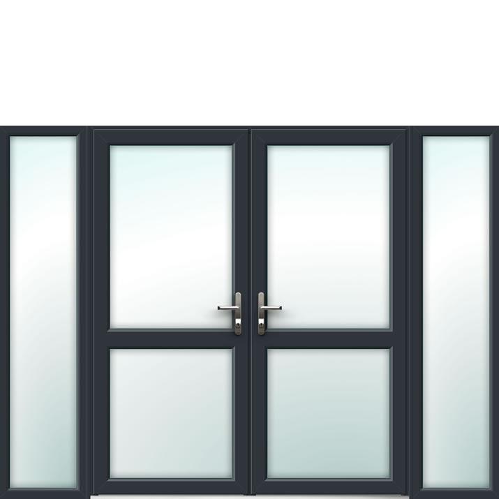Aluminium French Door Style 14