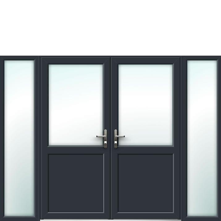 Aluminium French Door Style 15