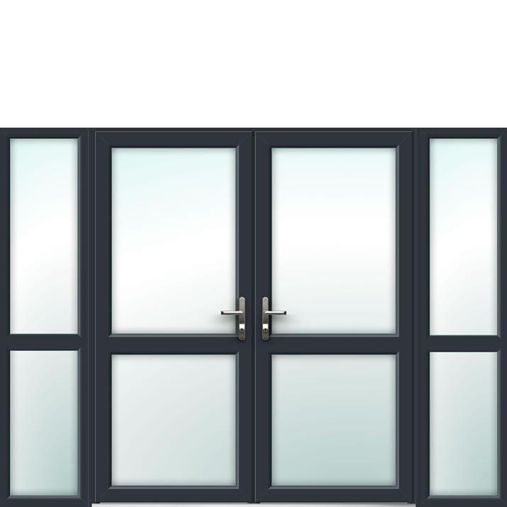 Aluminium French Door Style 16