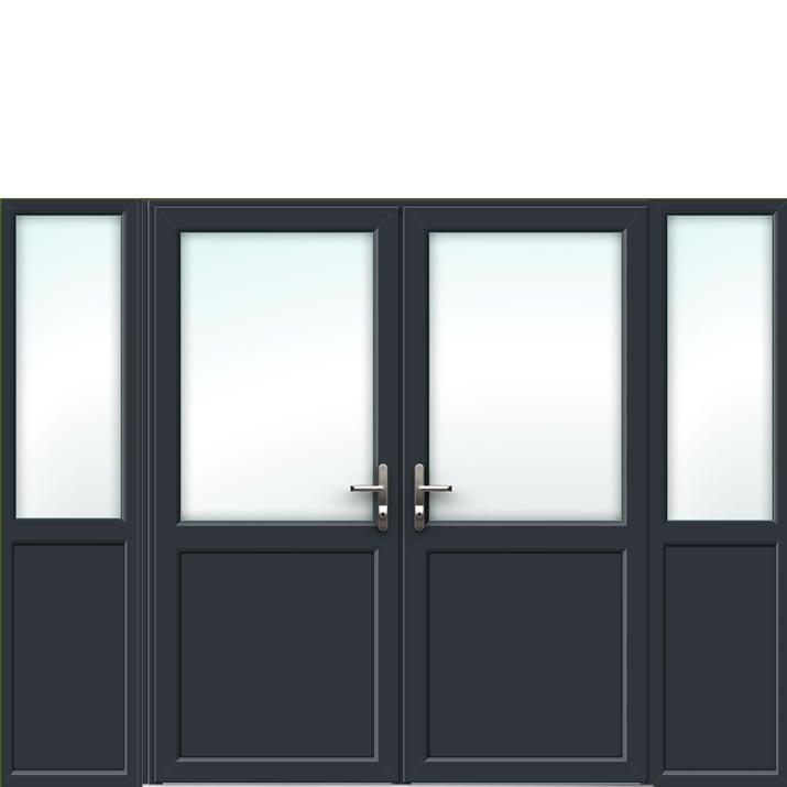 Aluminium French Door Style 19
