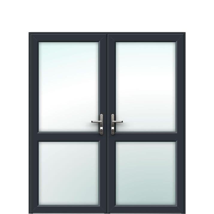 Aluminium French Door Style 2