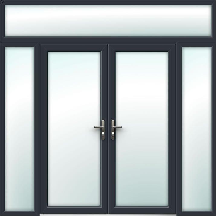 Aluminium French Door Style 27