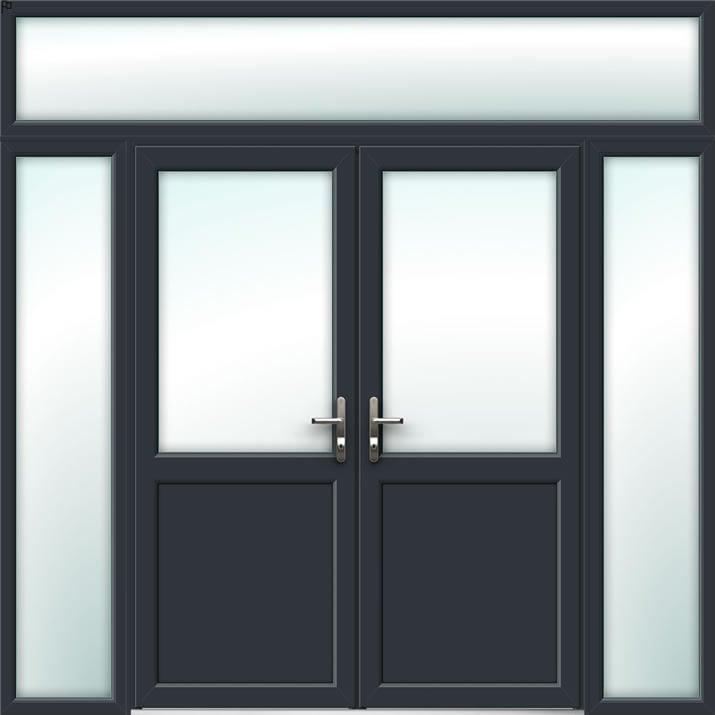 Aluminium French Door Style 29