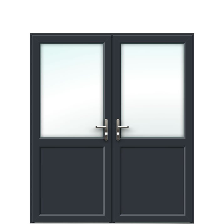 Aluminium French Door Style 3