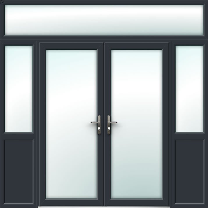 Aluminium French Door Style 31
