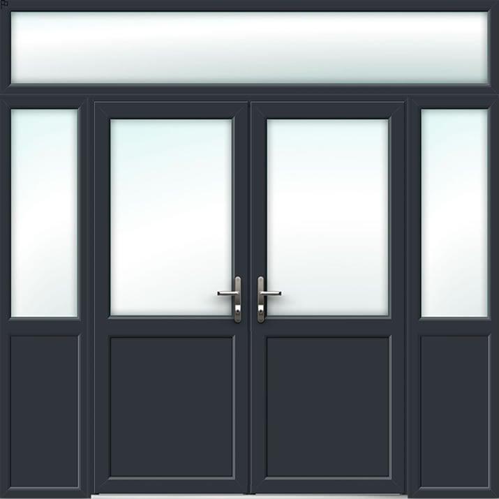 Aluminium French Door Style 33