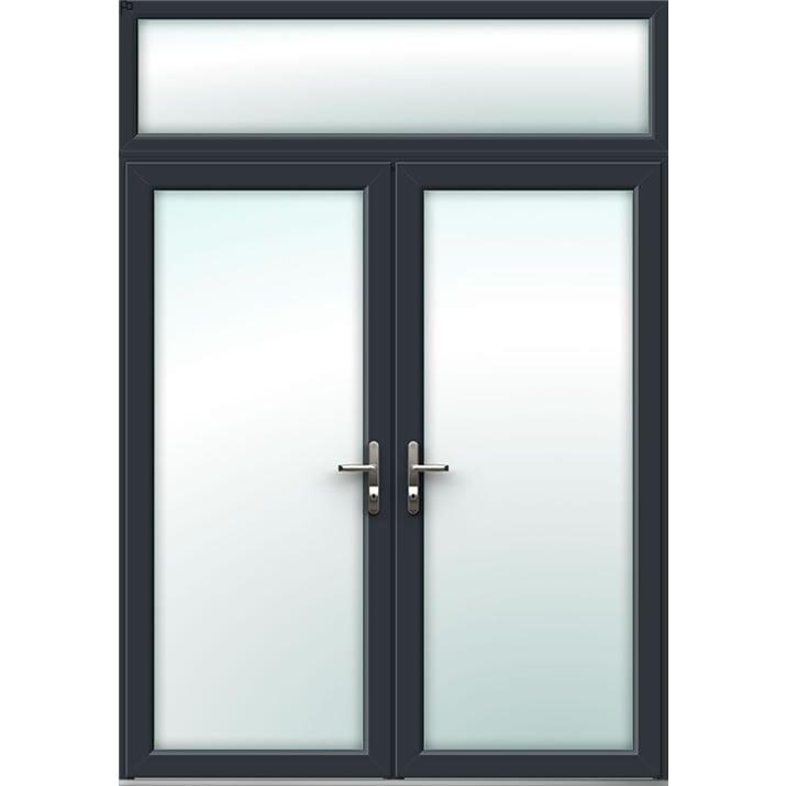 Aluminium French Door Style 4