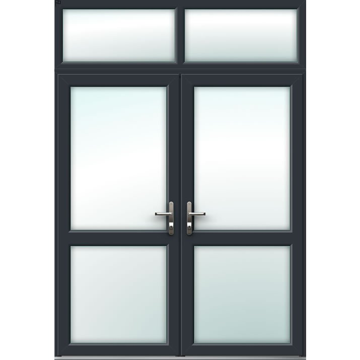 Aluminium French Door Style 8
