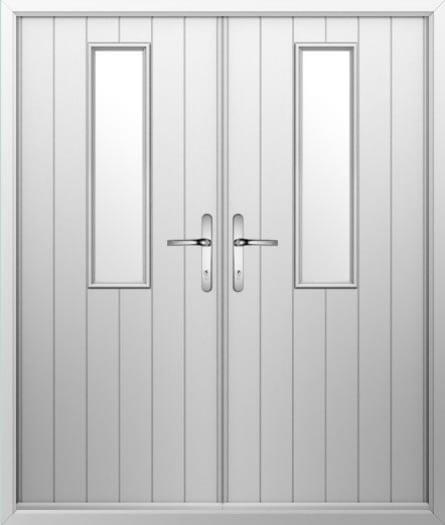 1 Long Composite French Door